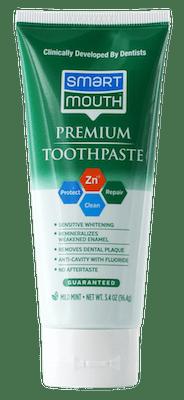 premium toothpaste bottle