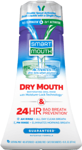 SmartMouth Dry Mouth Activated Rinse