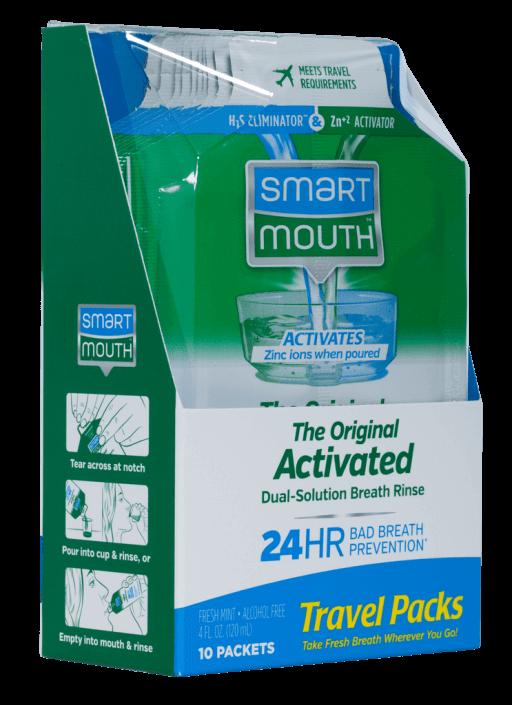 SmartMouth travel packs