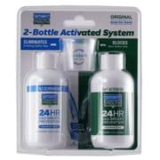 2 bottle mouthwash system