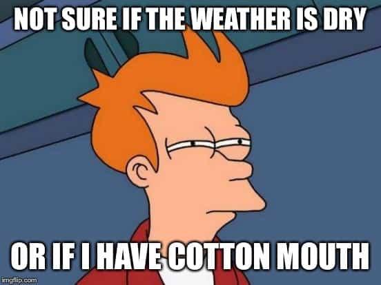 cottonmouth meme futurama