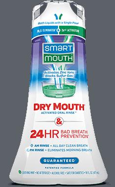 Dry Mouth Mouthwash bottle