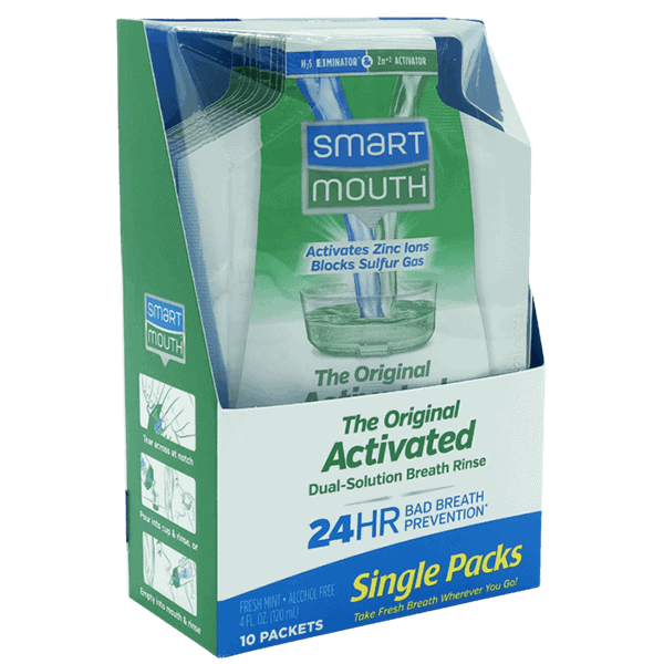 Smartmouth Mouthwash Single Packs